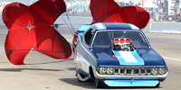 Photo Gallery: Drag Racing Action from Sunday at the 2009 California Hot Rod Reunion, With 'Chutes!