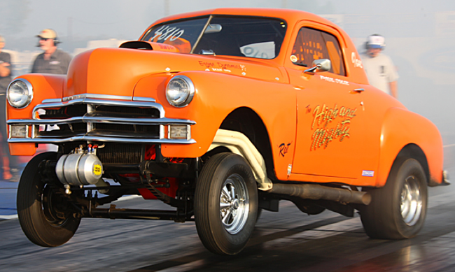 Plymouth Gasser at the CHRR