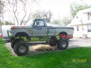Bangshift Com Craigslist Find A Homegrown 1976 Ford Monster Mudder