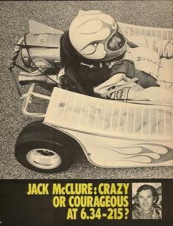 Captain jack McClure rocket kart
