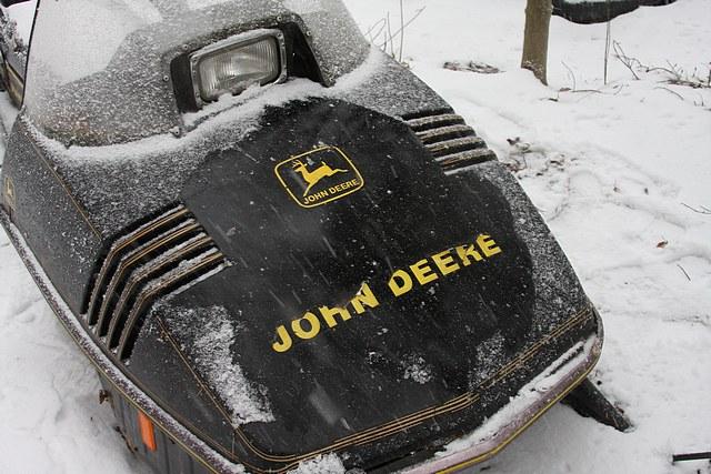 1976 John Deere Snowmobile