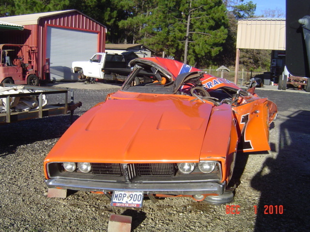 Ebay carnage a general lee that died with for Ebay motors com cars and trucks