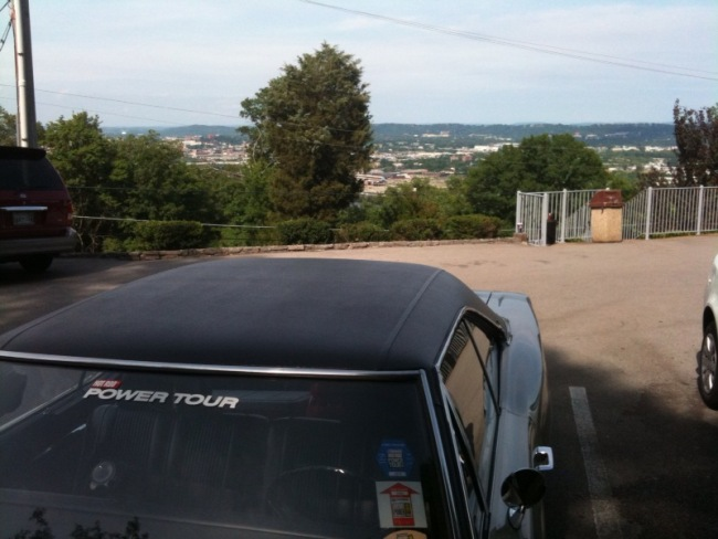 Mopar on lookout hill