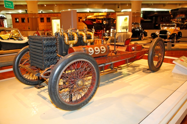 Henry Ford's 999 - the only race car he ever drove