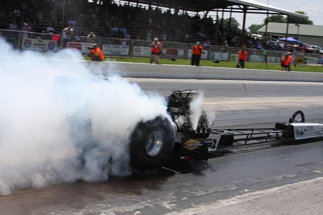 Top Fuel Burnout