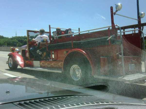 Power Tour fire truck