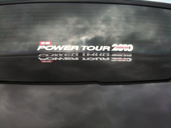 2010 Power Tour sticker
