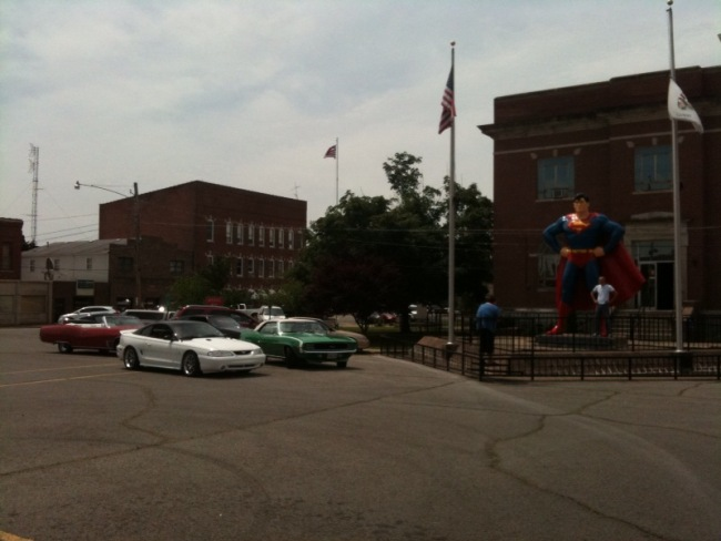 Superman and Muscle Cars