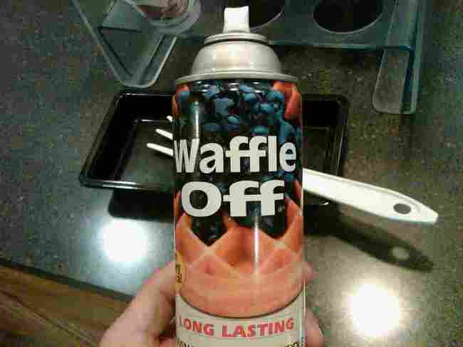 Waffle off!