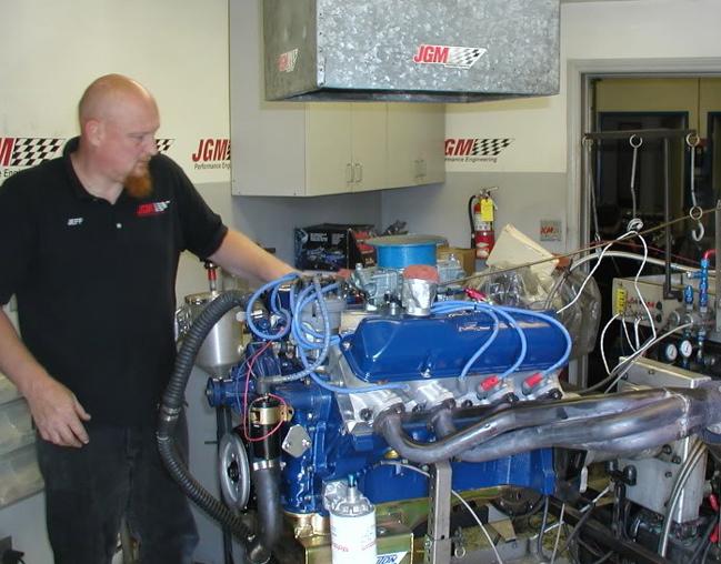 464 Horsepower FE Ford