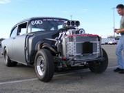 Hot Rod Drag Week Gallery: Pit Photos From Day One at National Trail