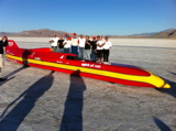 Spirit of Rett Streamliner Goes 416.9 mph to Break 45 yr old Summers Brothers Record