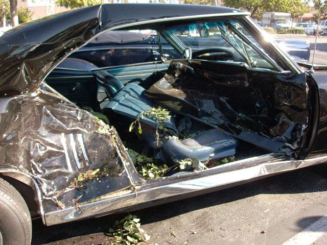 car show crash