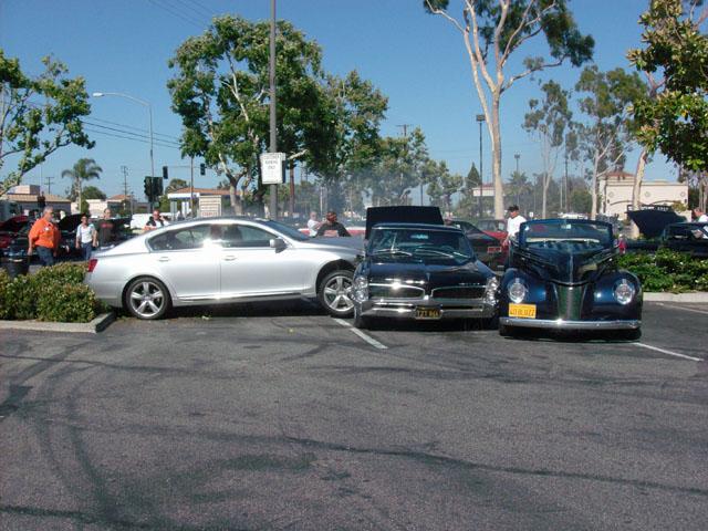Car Show Crash -- California