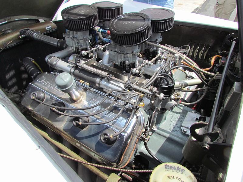 A Hemi powered Allard roadster