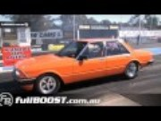 Hot Six Video: An Aussie Ford Falcon With Turbo Straight Six Power Tears Up the Strip