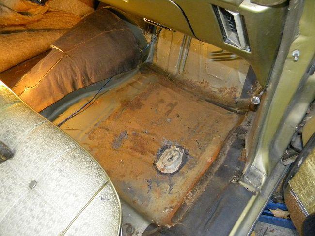 Caprice Floor Repair