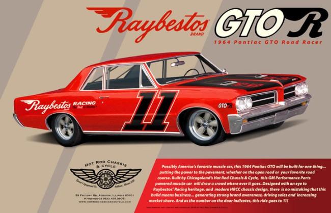 Raybestos GTO-R