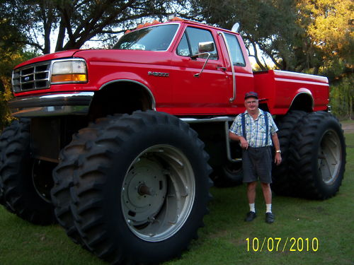 Ebay find a ford monster truck built from a for Ebay motors com cars and trucks