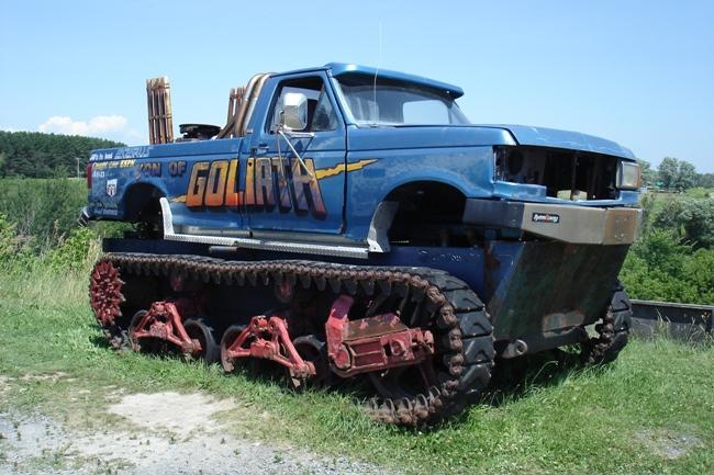 Bangshift Com Gallery The Photo Tour Of A Canadian Monster Truck Graveyard Bangshift Com