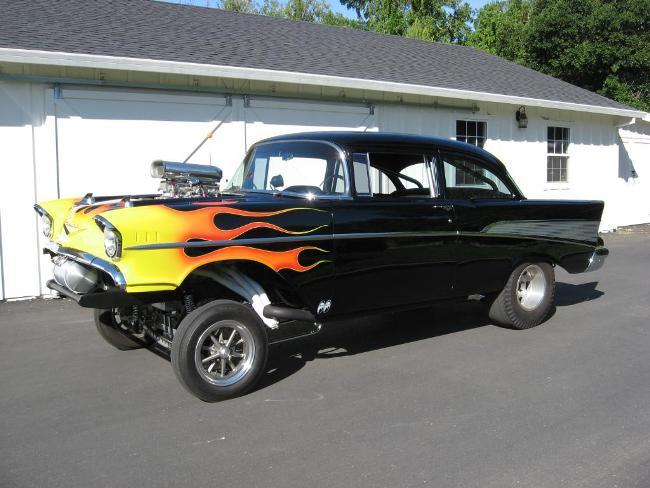 BangShift com eBay Find: A Blown Hemi Powered '57 Chevy