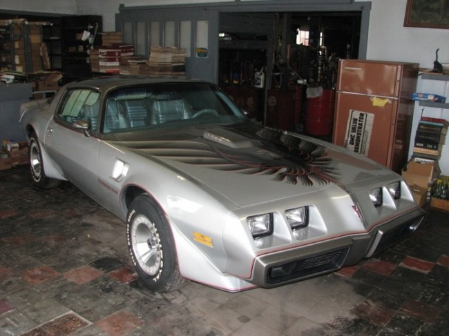 1979 Trans Am with six miles!