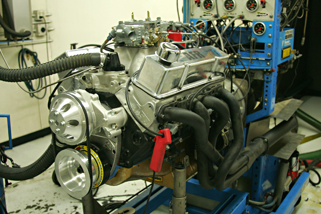 Dart 372 SHP Test Engine