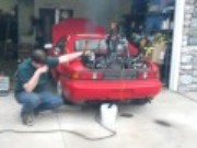 BangShift Approved Video: Toyota MR2 Plus Radial Airplane Engine Equals Awesome