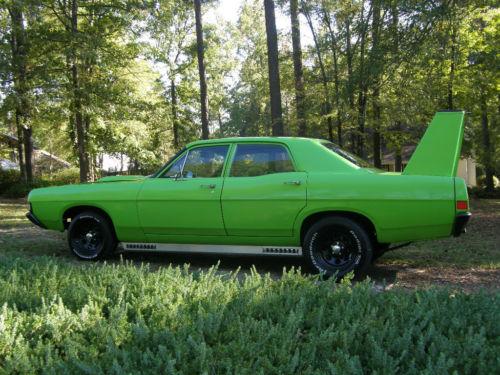 24 Hours Of Lemons >> BangShift.com eBay Find: A 1968 Ford Fairlane That Comes ...