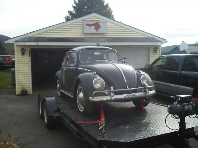 Dodge Charger Pursuit >> BangShift.com BangShifty Barn Find: A Low Mileage, Pristine Condition, 1961 VW Beetle ...