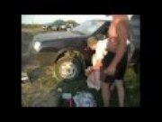 Funny Video: The Unnecessarily Complex and Dangerous Russian Way to Start a Car With a Dead Battery
