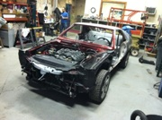 Project Car Update: Progress on the AMX/GTO Project - It Runs!