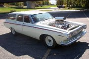 Racing Junk Find: A Blown 1963 Dodge 440 Wagon!