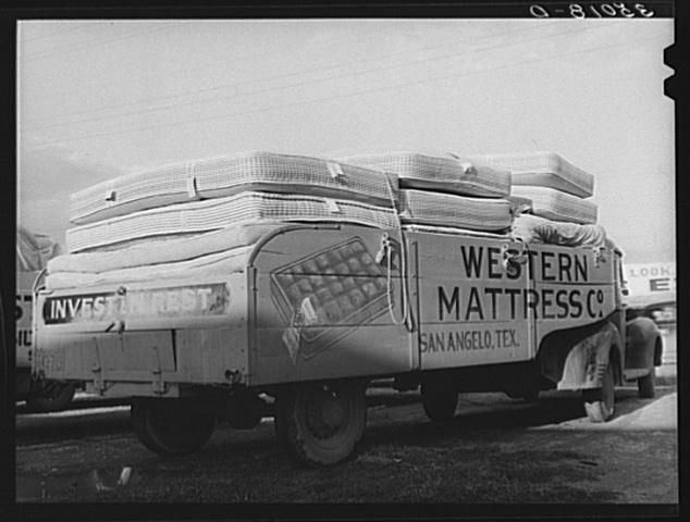 Mattress Truck