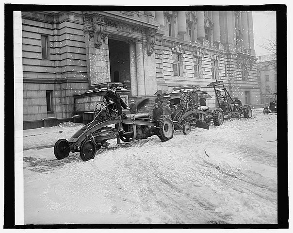Ford built snow plows for Detroit streets