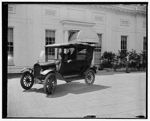 Model T at White House