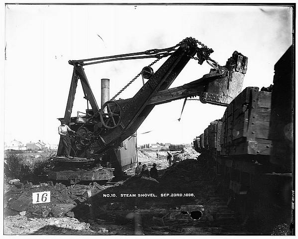 1896 Steam Shovel