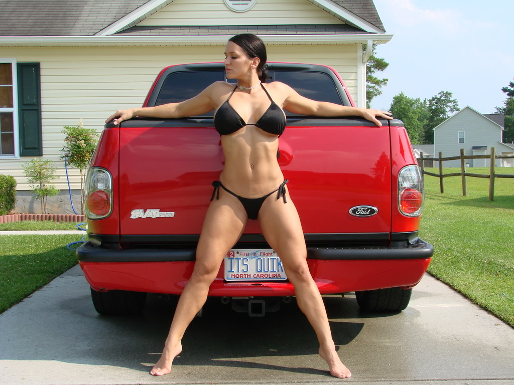 ladies posing with cars can we if we don 39 t get. Black Bedroom Furniture Sets. Home Design Ideas