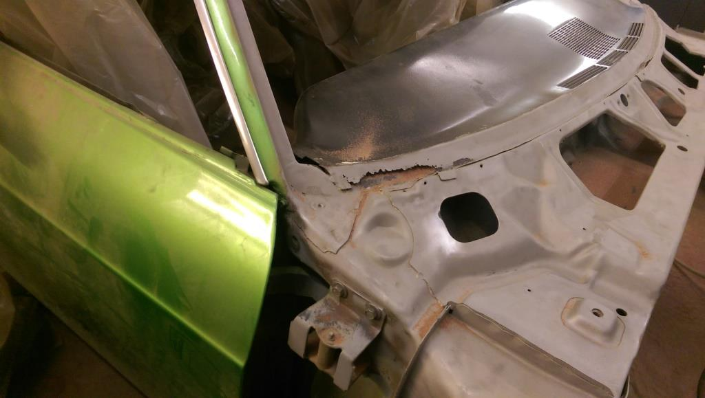Disassembly Of 1965 Impala Dashboard The Sheet Metal