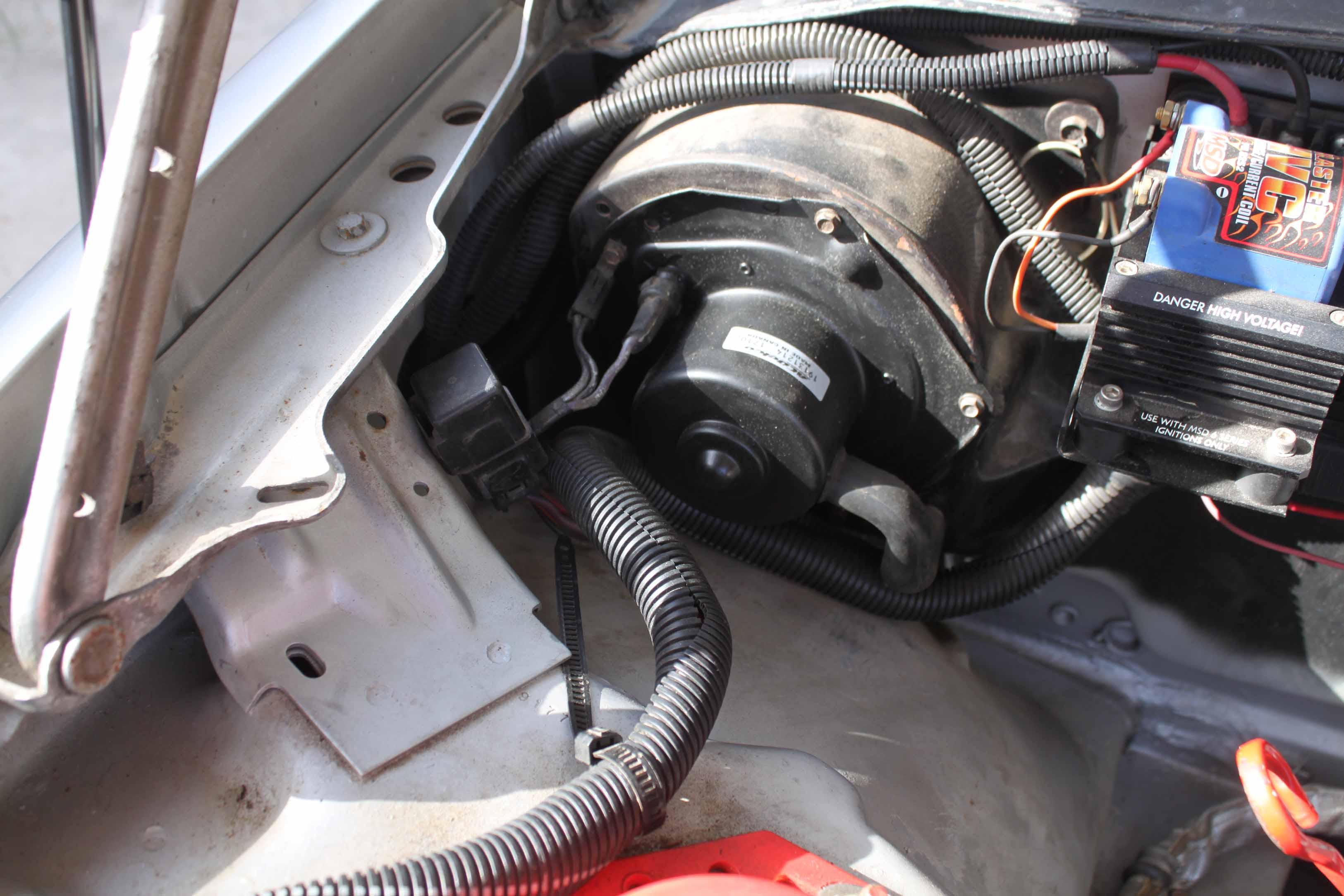 3rd Gen Camaro Heater Blower Motor