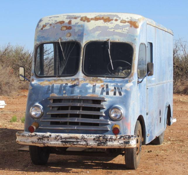 squirrel's 55 Chevy step van/bread truck - The BangShift com