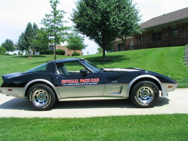 Corvette Indy Pace Car For Sale
