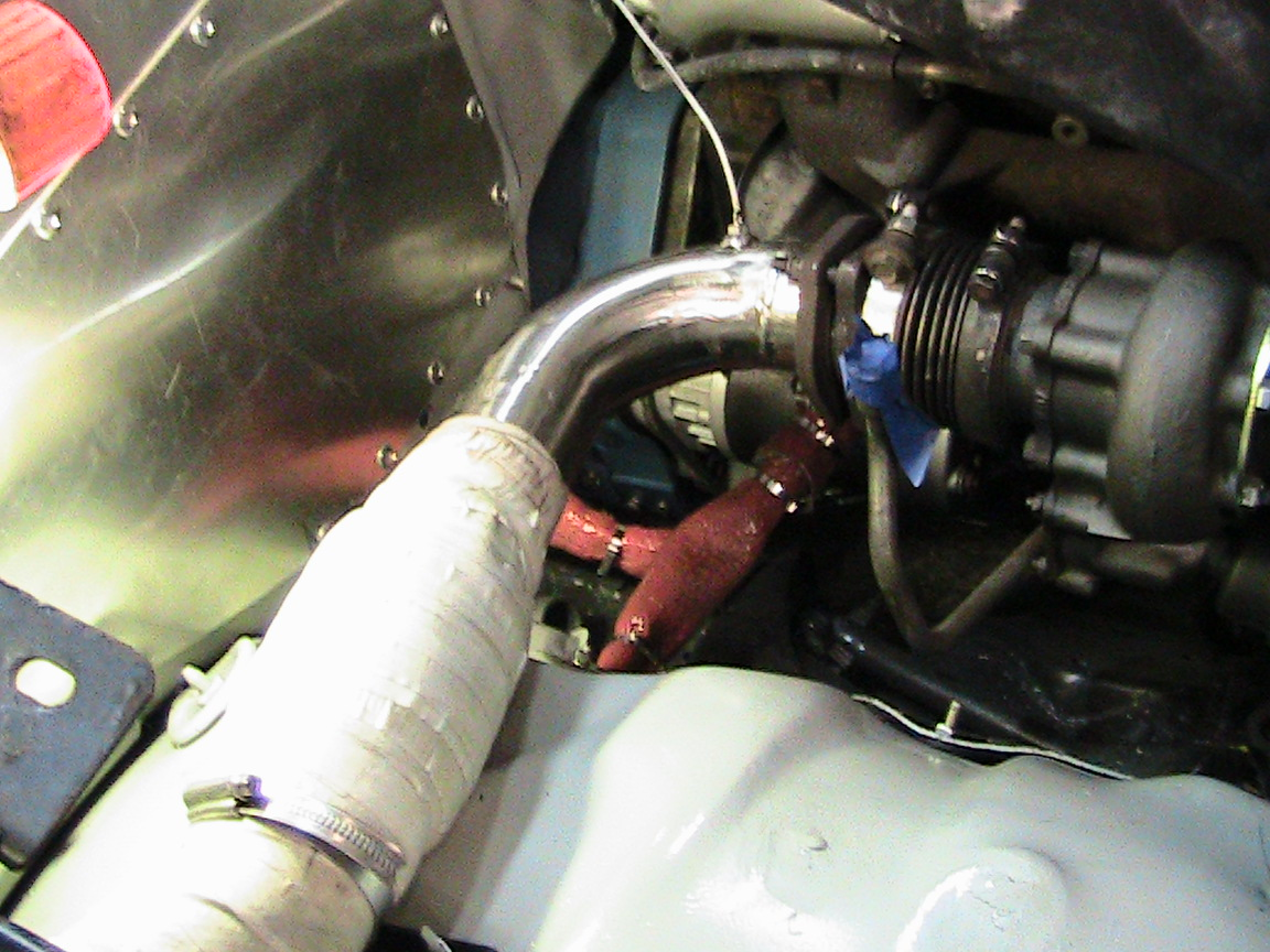 Mutt The Race Truck Forums Wiring Harness Heres Wires All Wrapped Up Past Bottom Of Turbo I Think Thats Needed