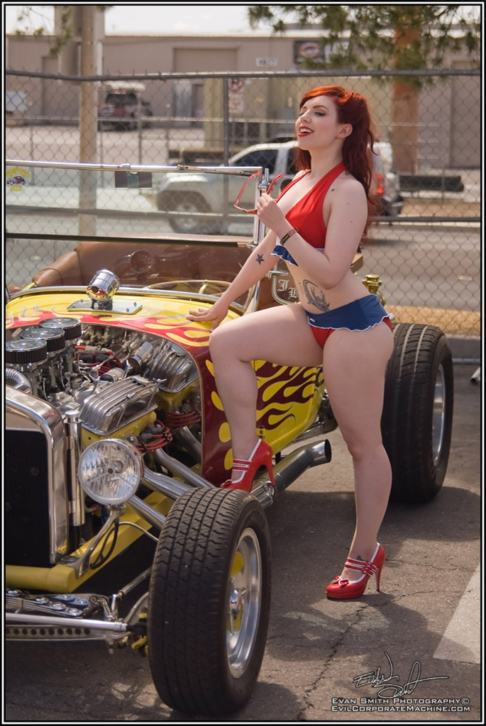 Ford Muscle Cars >> Ladies posing with cars .. Can we if we don't get OVERBOARD ? - The BangShift.com Forums