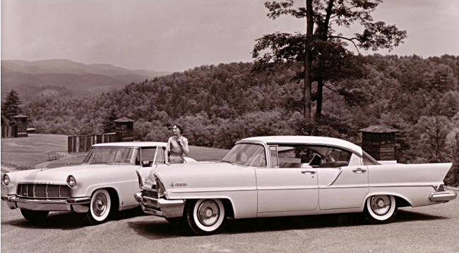Cool Old Press Photos: Beauty and the Beast, the 1957 Lincolns