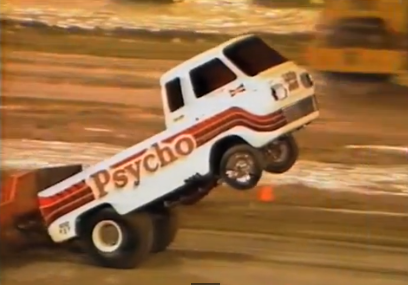 Wheels Up Video: The Psycho Wheelstander Pulling Truck Doing What Made It So Famous!