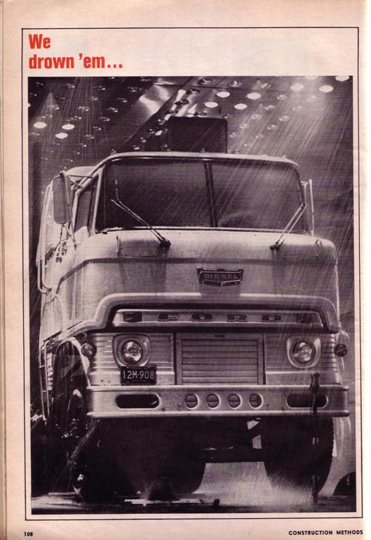 Gallery: Vintage Truck Ads From 1966 — Vintage Working Vehicles On Labor Day