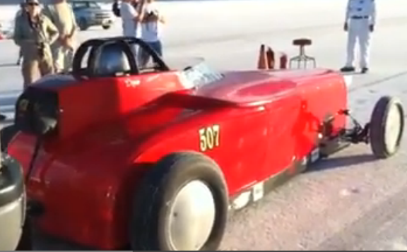 Bonneville Video: Mechanical Music Off Of The Push Truck And Into Infinity