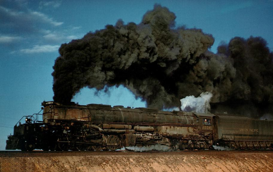 Motorized Freak Of The Week The Union Pacific Big Boy Locomotive on Tractor Truck