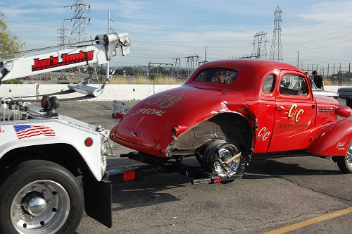Friday BOOM: A Blown Slick Tears a 1938 Chevy to Shreds